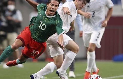 Thua Mexico, bóng đá Nhật Bản trắng tay tại Olympic Tokyo