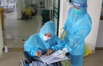 9.000 F0 ở Bệnh viện dã chiến số 1 TP.HCM xuất viện