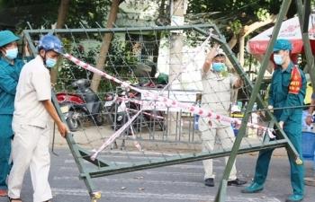 Đà Nẵng áp dụng 'nội bất xuất, ngoại bất nhập' tại vùng dịch Sơn Trà