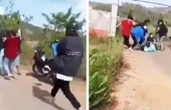 Thiếu nữ bị cả chục người cầm mũ bảo hiểm vây đánh hội đồng: Thông tin mới nhất