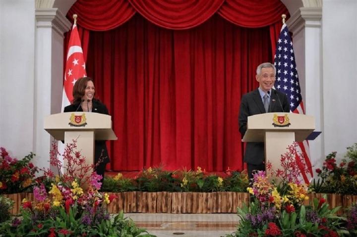 Những hình ảnh đầu tiên của Phó Tổng thống Mỹ tại Việt Nam - 6