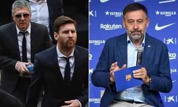 Barca thề đưa Messi ra tòa nếu còn ý định chuyển nhượng tự do