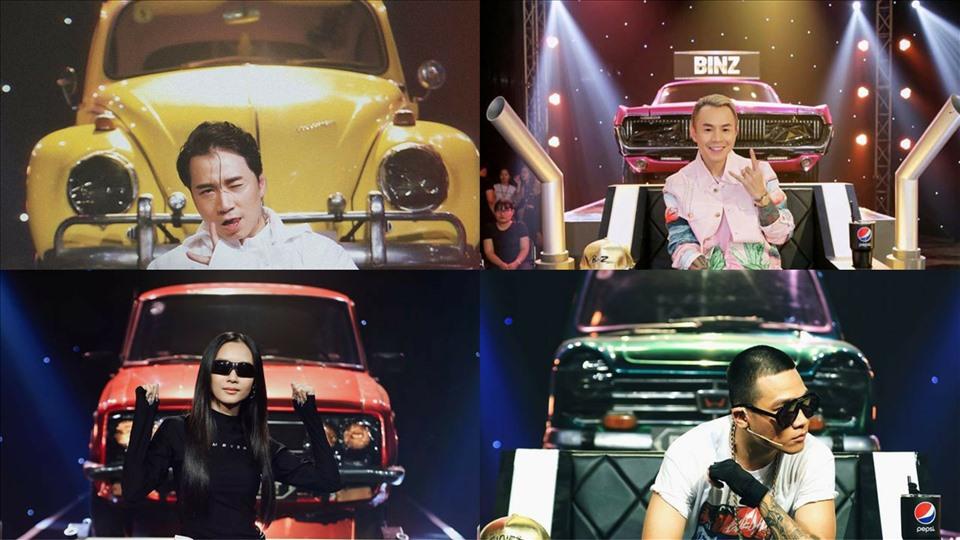 4 xế hộp cổ phía sau Binz, Karik, Suboi, Wowy của Rap Việt có gì đặc biệt?