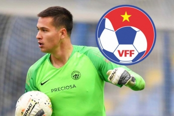 VFF nói gì khi tuyển Việt Nam có thể mất thủ môn tài năng Filip Nguyễn?