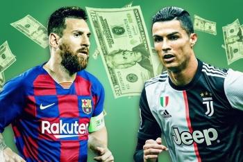 Messi trở thành tỷ phú bóng đá thứ 2 sau Ronaldo