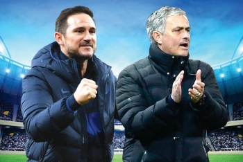 Jose Mourinho chạm trán đội bóng cũ Chelsea ở cúp Liên đoàn