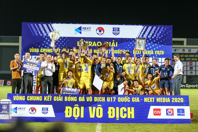 song lam nghe an vo dich u17 quoc gia