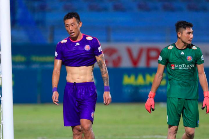 sai gon fc say chan dua vo dich v league 2020 cang kho luong