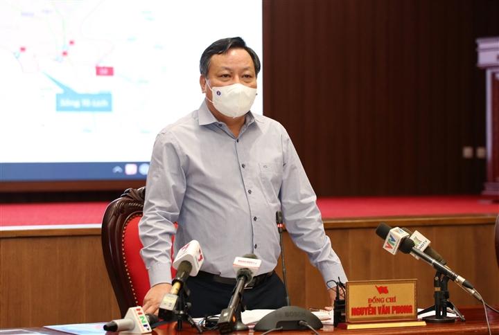 Phó Bí thư Hà Nội: Siết chặt giãn cách nội thành, hạn chế tối đa người ra đường - 1