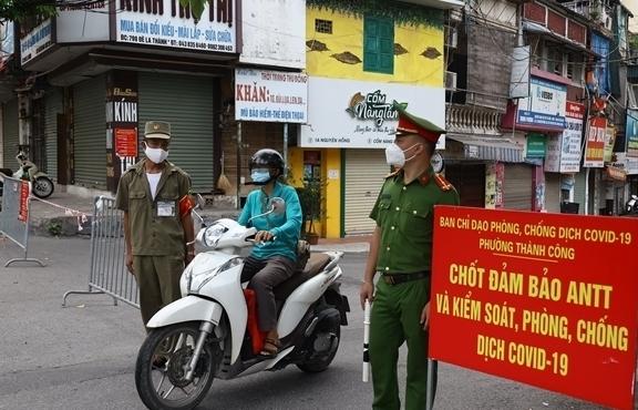 Hà Nội thêm 38 ca dương tính nCoV, một nửa ở ổ dịch quận Thanh Xuân
