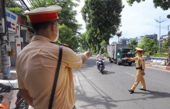 Dịp nghỉ lễ Quốc khánh, CSGT xử phạt hàng nghìn vi phạm