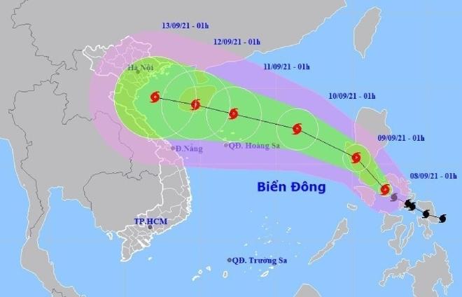 Bão Conson di chuyển nhanh, có thể giật cấp 14 khi vào Biển Đông - 1