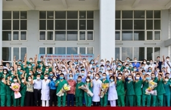 200 cán bộ, bác sĩ Hải Phòng hỗ trợ Hà Nội chống dịch COVID-19