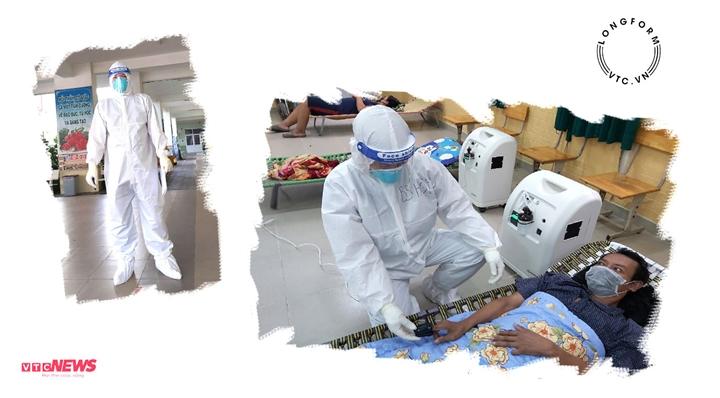 Bác sỹ vừa hết bệnh, chạy xe máy lên Sài Gòn chăm sóc 200 F0 mỗi ngày - 1