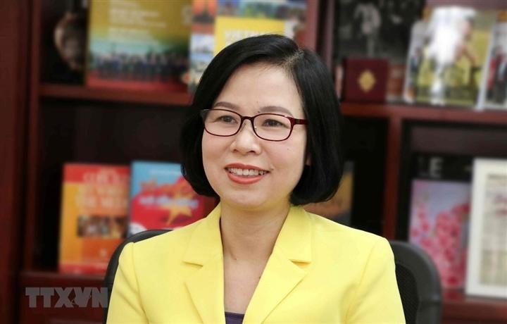 Bà Vũ Việt Trang giữ chức Tổng Giám đốc Thông tấn xã Việt Nam - 1