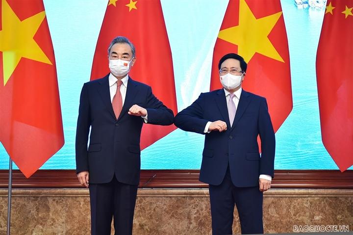 Ngày làm việc đầu tiên của Ngoại trưởng Trung Quốc Vương Nghị tại Việt Nam - 3