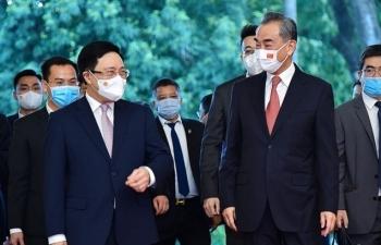 Ngày làm việc đầu tiên của Ngoại trưởng Trung Quốc Vương Nghị tại Việt Nam