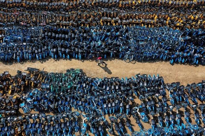 Ảnh khó tin về nghĩa địa xe đạp 'khổng lồ' tại Trung Quốc  - 2
