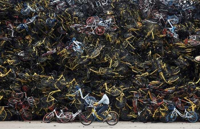 Ảnh khó tin về nghĩa địa xe đạp 'khổng lồ' tại Trung Quốc  - 6