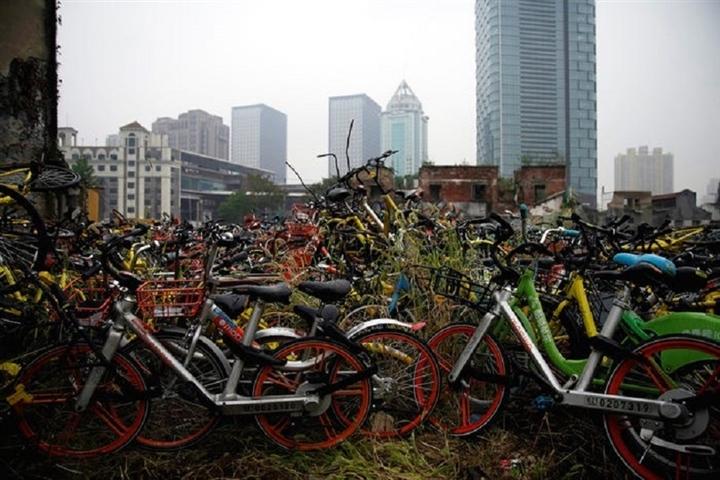 Ảnh khó tin về nghĩa địa xe đạp 'khổng lồ' tại Trung Quốc  - 9