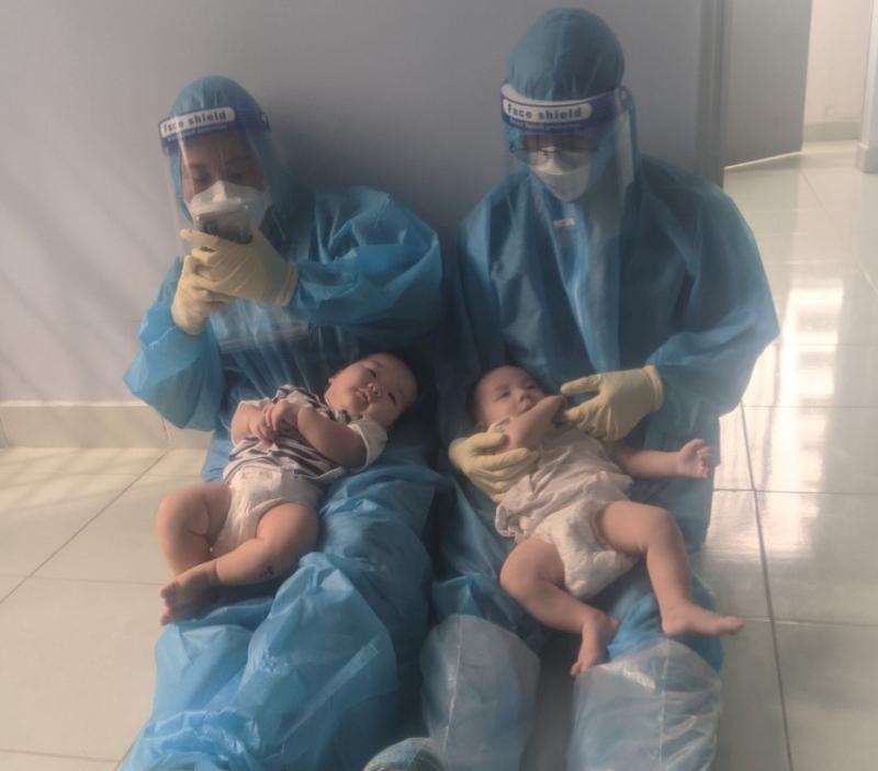 2 trẻ bị bỏ rơi bị nhiễm COVID-19 -0