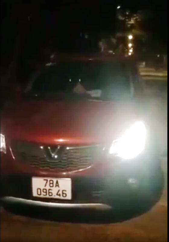 Huyện ủy viên, Trưởng Phòng Tài chính huyện  lái ô tô vào đường cấm, vi phạm nồng độ cồn -0