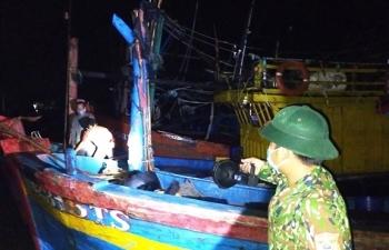 Quảng Bình: Phát hiện 6 ngư dân trốn cách ly ra khơi đánh cá