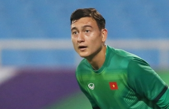 Đặng Văn Lâm chấn thương, lỡ trận tuyển Việt Nam đấu Trung Quốc