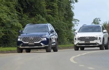 Hyundai An Khánh triển khai ưu đãi cho khách hàng mua xe SantaFe