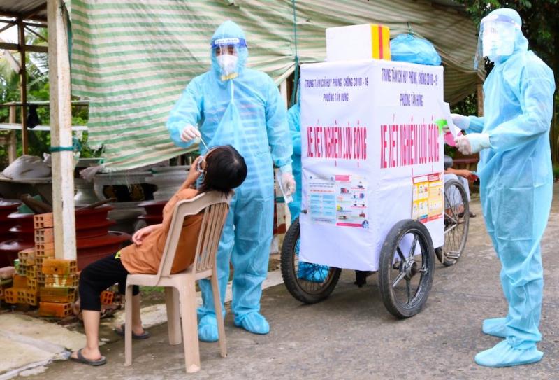 Cần Thơ độ phủ vaccine còn thấp, gần 70.000 người chờ tiêm mũi 2 -0