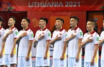 Trực tiếp bóng đá Việt Nam vs CH Séc World Cup futsal 2021