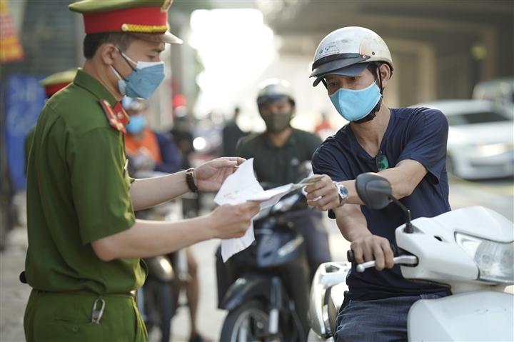 Hà Nội không kiểm soát giấy đi đường, không phân vùng từ 6h ngày 21/9 - 1