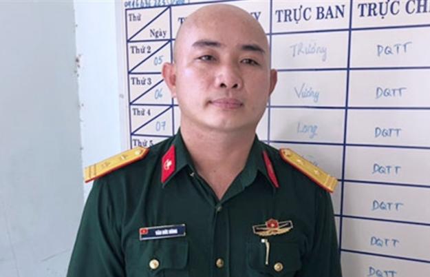 Bắt kẻ giả danh bộ đội đặc công vượt chốt kiểm dịch ở Đồng Nai