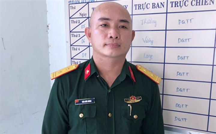 Bắt kẻ giả danh bộ đội đặc công vượt chốt kiểm dịch ở Đồng Nai - 1