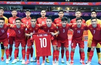 Thua Nga 2-3, ĐT futsal Việt Nam rời giải với tư thế ngẩng cao đầu
