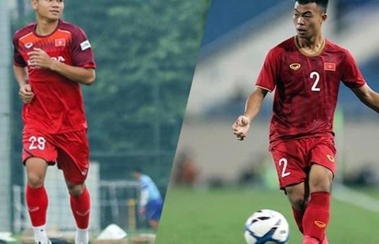 HLV Park Hang Seo gọi bổ sung 2 hậu vệ lên tuyển Việt Nam