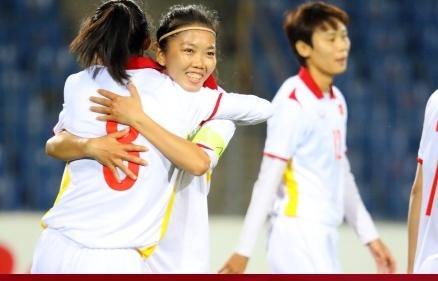 Tuyển nữ Việt Nam thắng 16-0 trận mở màn vòng loại Asian Cup 2022