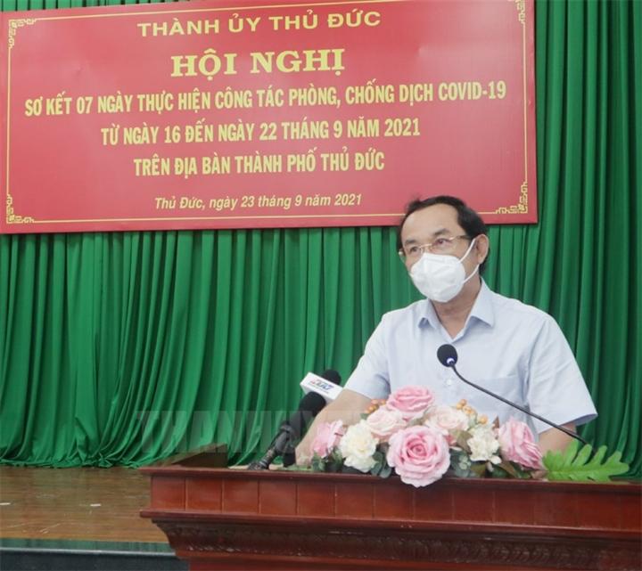 Bí thư Nguyễn Văn Nên: Phải từng bước mở dần, không thể tiếp tục giãn cách - 2