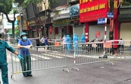 Hà Nội: Ca F0 tử vong trong tư thế treo cổ ở phố Trần Nhân Tông