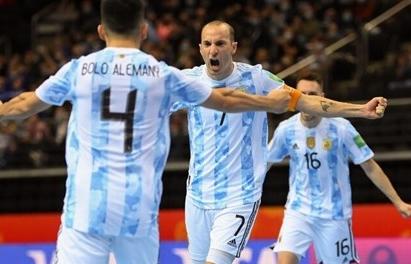 Brazil chạm trán Argentina tại bán kết Futsal World Cup 2021