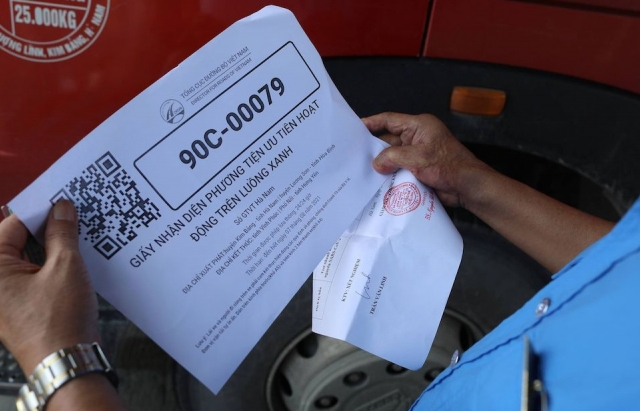 Sẽ thống nhất một nơi cấp mã QR cho xe chở hàng hoá