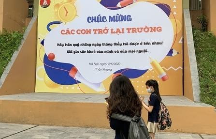 Hà Nội: Chuẩn bị đón học sinh  trở lại trường khi điều kiện cho phép