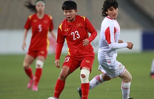Đè bẹp Tajikistan, tuyển nữ Việt Nam giành vé dự Asian Cup 2022