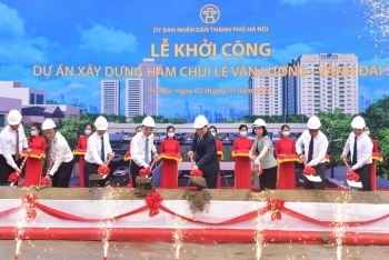 Khởi công xây dựng công trình hầm chui Lê Văn Lương – vành đai 3