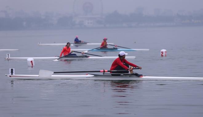 khai mac giai dua thuyen rowing va canoeing vo dich tre quoc gia 2020