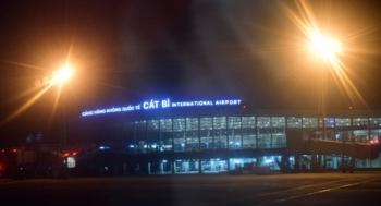 Dây đèn 3 pha ở sân bay Cát Bi bị cắt trộm