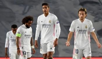 Thua sốc ở Champions League, Real Madrid lập kỷ lục buồn