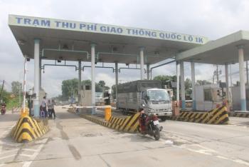 Dừng thu phí tất cả các trạm BOT trên quốc lộ 1K Đồng Nai- TP.HCM từ 31-10