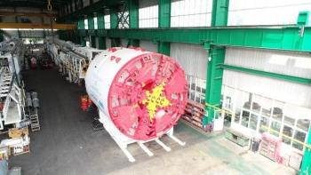 Robot đường sắt Nhổn-ga Hà Nội bắt đầu đào hầm từ quý I-2021
