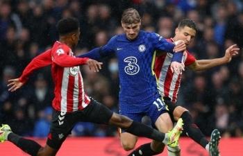 Kết quả Ngoại Hạng Anh: Đánh bại Southampton, Chelsea chiếm ngôi đầu